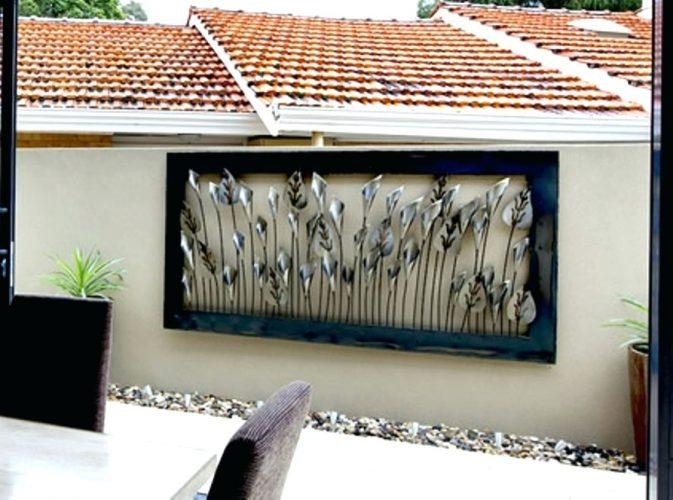 20 Best Large Metal Wall Art For Outdoor