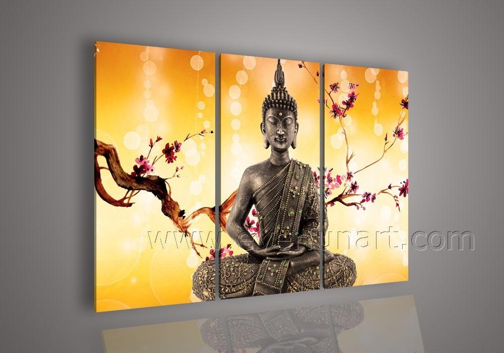 20 Collection Of Abstract Buddha Wall Art