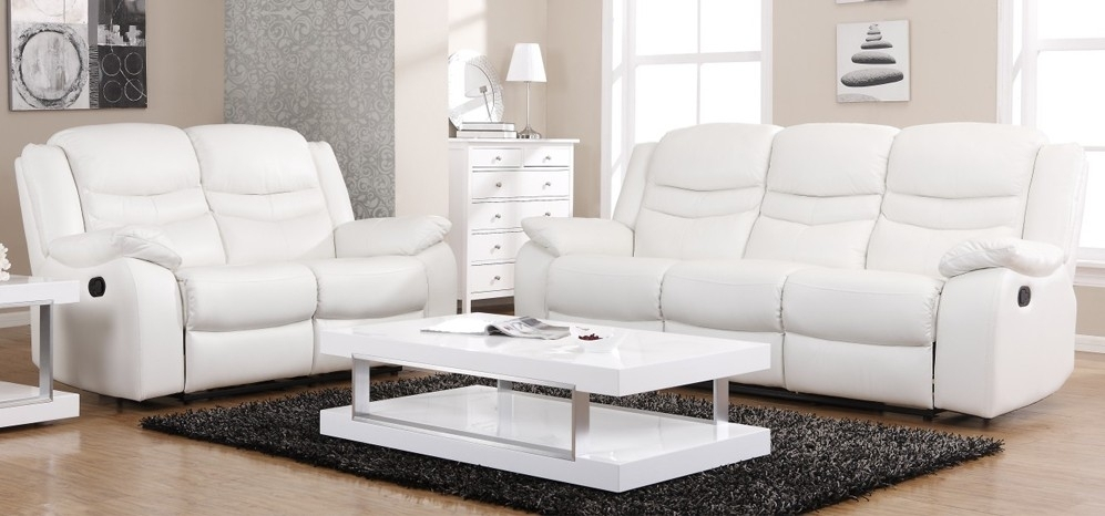 Brighten up your home with a modern stylish white leather sofa. 10 Best Ideas White Leather Sofas | Sofa Ideas