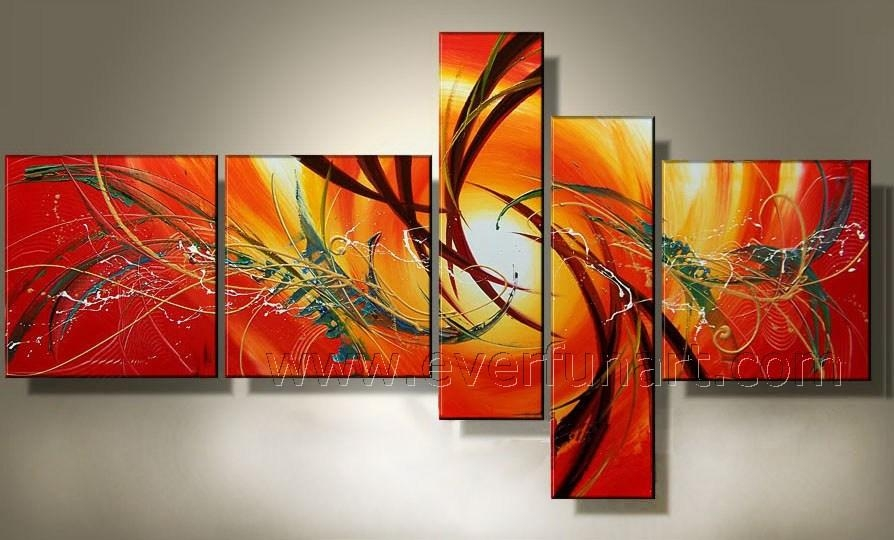 20 Best Collection Of Abstract Oil Painting Wall Art