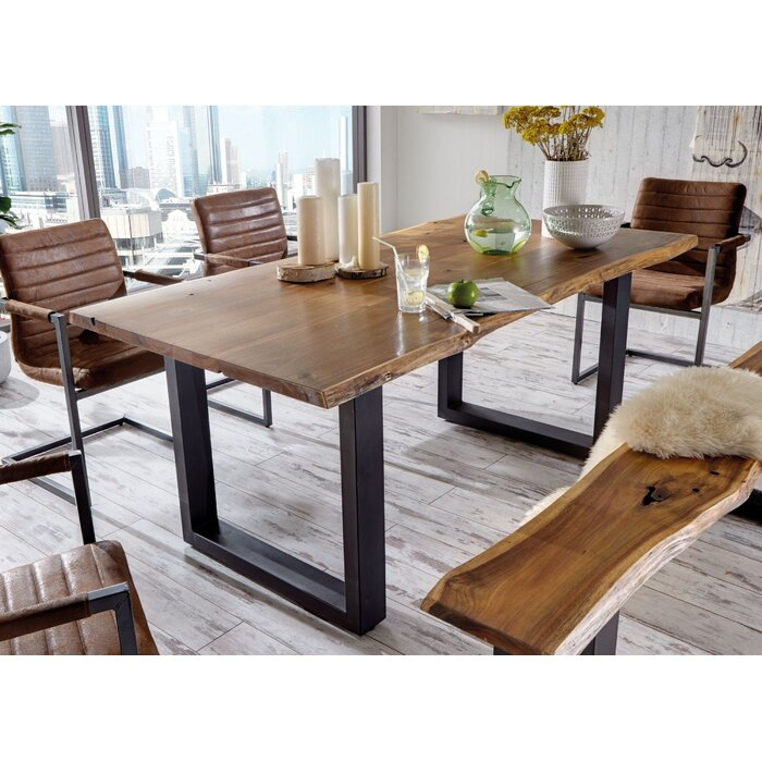 25 collection of unique acacia wood dining tables coffee on solid wood dining table id=93205