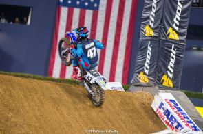 Tommy in San Diego lanch pad (Racerx Cudby photo)