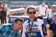 Tommy and Ivan checking out San Diego challenging track (mxa photo)
