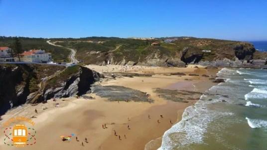plus belles plages du alentejo, plage de Zambujeira do Mar