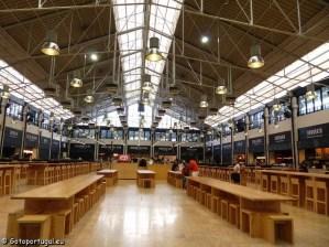Visiter Lisbonne, : marché Ribeira