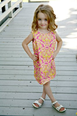 A Line dress sewing pattern