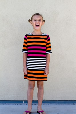 Anywhere Dress sewing pattern. Easy!