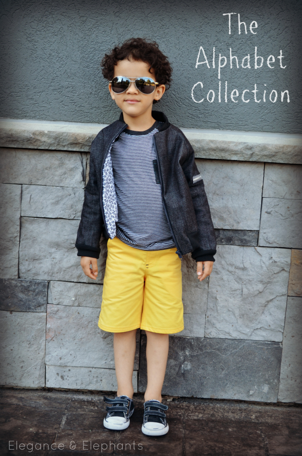 LOVE this boy outfit!!! Cute patterns. Sewn by E and E