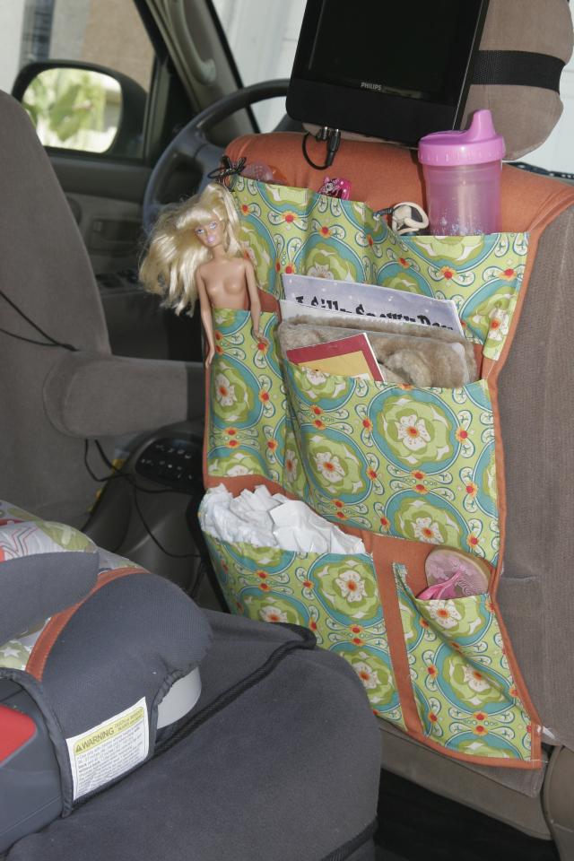 Featured Diy Back Seat Organizer Sewtorial