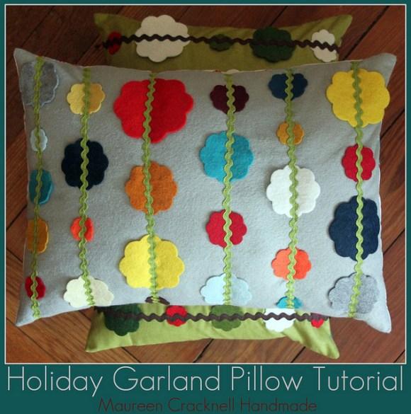 garland pillow