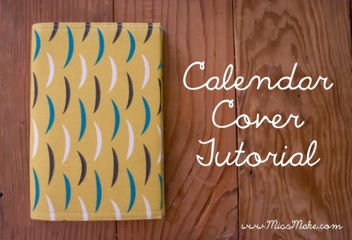 calendar cover - Sewtorial