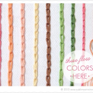 """Learn the """"easy way"""" to create a chain stitch with this tutorial by Sublime Stitching. - Sewtorial"""