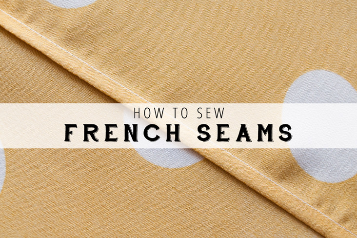 Neat seams are a hallmark of a professionally made garment. Learn to sew beautiful french seams with this tutorial by IndieSew. - Seams