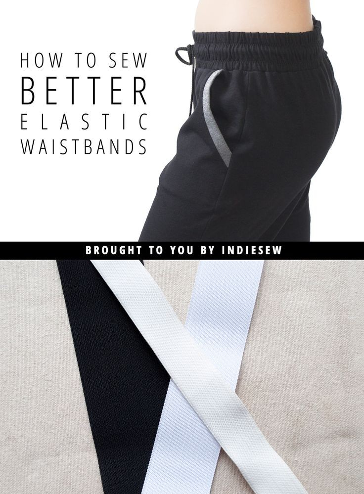 There's no such thing as perfect, but you can get pretty close to a perfect elastic waistband with this tutorial by IndieSew. -Sewtorial