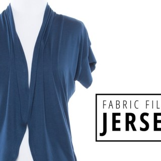 In this article by IndieSew you'll learn all about jersey fabric and which projects are best suited for this versatile fabric. -Sewtorial
