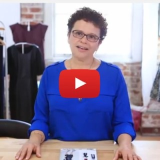 Learn to sew in this video tutorial by Creative Bug with one of the experts of of Simplicity Patterns. - Sewtorial
