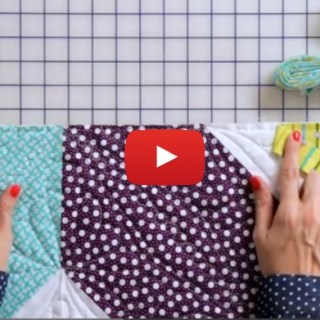 In this video by Fat Quarter Shop, you'll learn how to join binding strips on a quilt for a beautiful finish. - Sewtorial