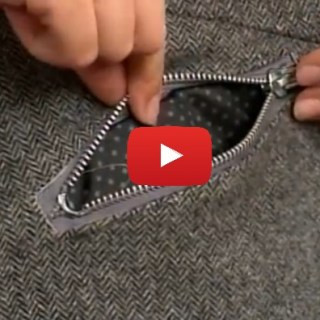 In this zippered welt pocket video tutorial, Gretchen Hirsch shows how to create and interesting design effect with zippered welt pockets. -Sewtorial
