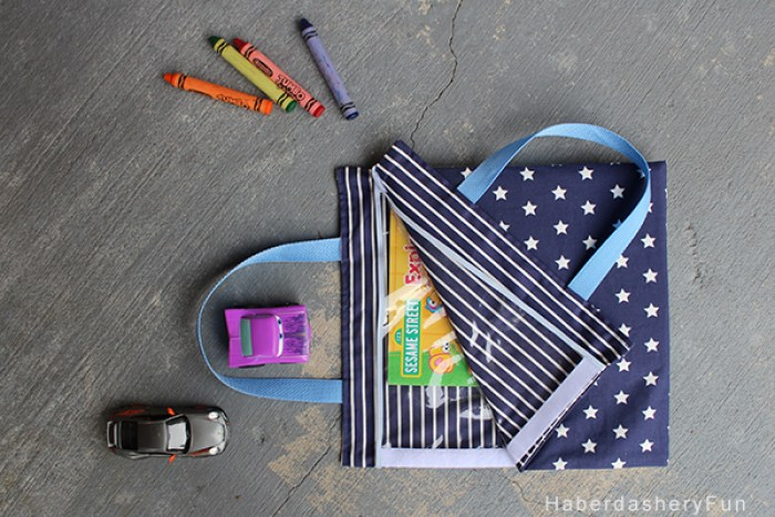 Velcro Activity Bag Sewtorial