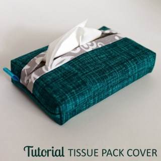 In this tutorial, The Inspired Wren shows how easy it is to create attractive pocket tissue pack covers in your favorite fabrics. -Sewtorial