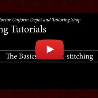 Hand Sewing takes a unique set of skills separate from machine sewing. Learn how to master the basics in this Hand Sewing 101 video tutorial by Devine DIY. -Sewtorial