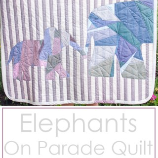 The Elephants on Parade Quilt is a free quilt pattern by Shwin and Shwin. It's perfect as a baby gift (or for someone who just loves elephants!) -Sewtorial
