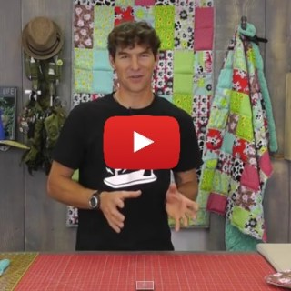 Man Sewing shares a video tutorial for a weighted quilt that's perfect for those with special needs. -Sewtorial
