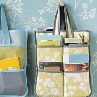 The versatile Bias Tape Tote Bag by Martha Stewart has lots of pockets for storage, so it's perfect for keeping things organized. -Sewtorial
