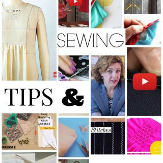 We did a little bit of digging and came up with some of our favorite tips, shortcuts, and techniques to make your sewing experience a great one. -Sewtorial