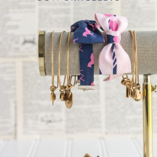 If fun accessories mixed with a little bit of whimsy are your style, then you'll love this bow tie bracelet tutorial by Polkadot Chair. -Sewtorial