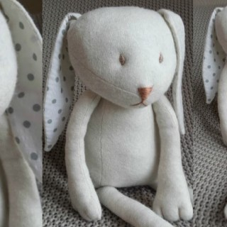 It's amazing how one pattern can be interpreted in so many different ways. Makery DIY used a pattern by Sew4Home to create this adorable upcycled bunny toy. Create your own version using her suggestions.