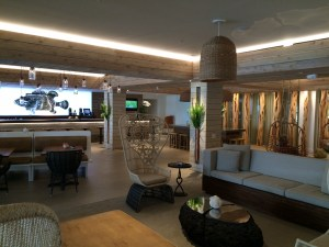 Interior of lobby at Amara Cay.