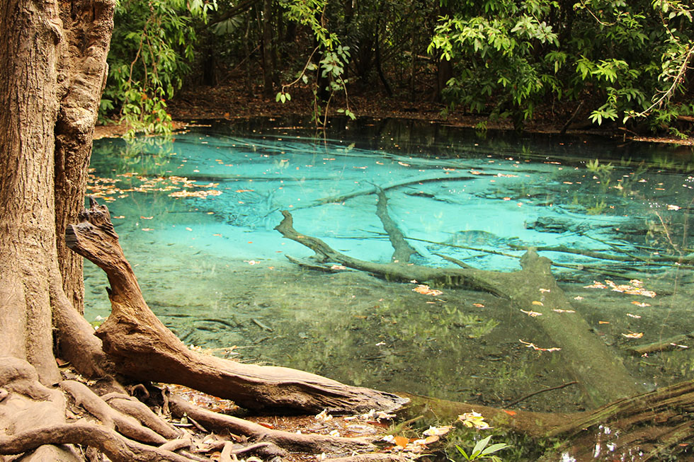 Blue Pool in Krabi