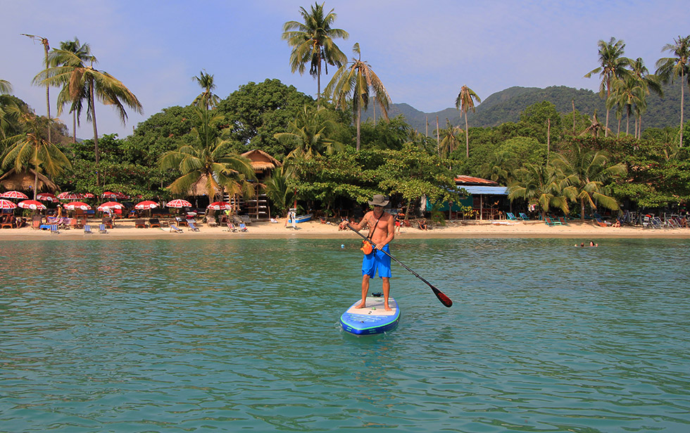 Go supping at Klong Kloi Beach on Koh Chang