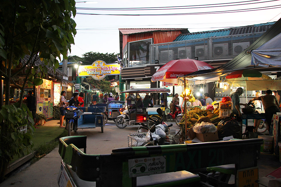 Koh Lipe's Walking Street