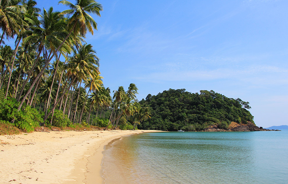 Peace and quiet - Wai Chaek Beach on Koh Chang