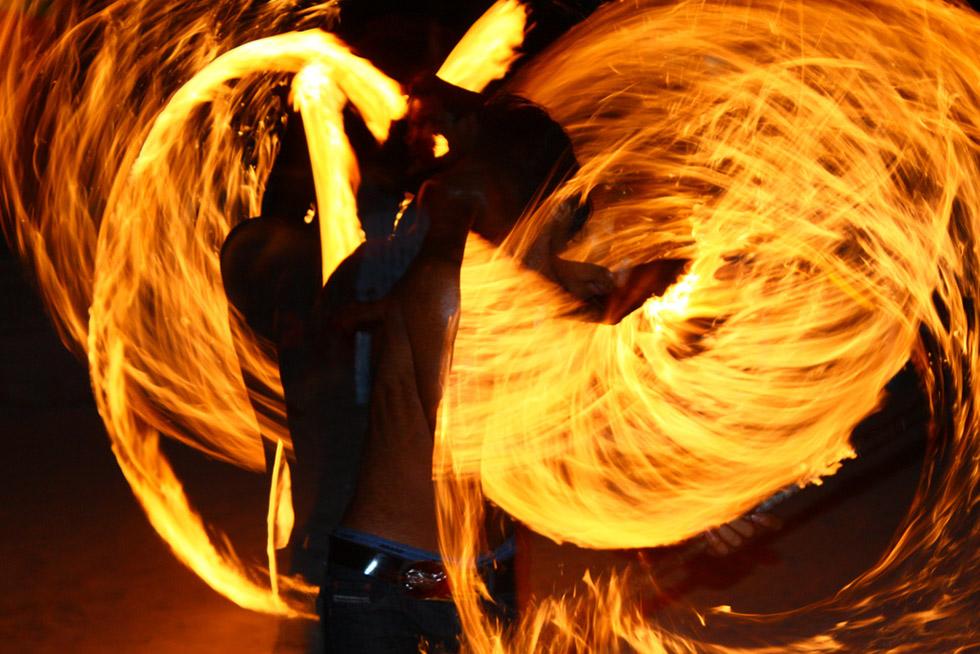 Fireshow in Koh Phi Phi