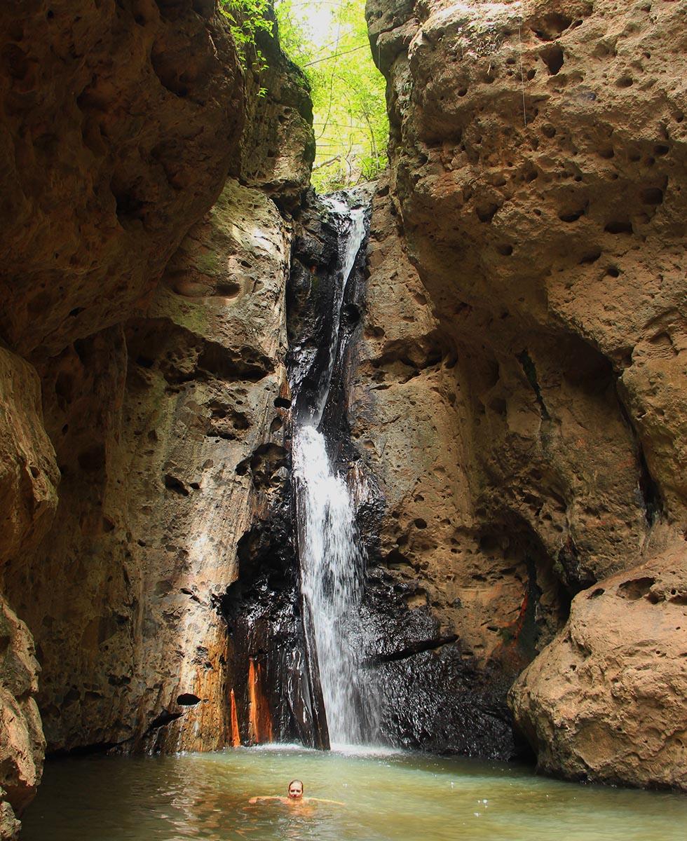 Pambok Waterfall in Pai