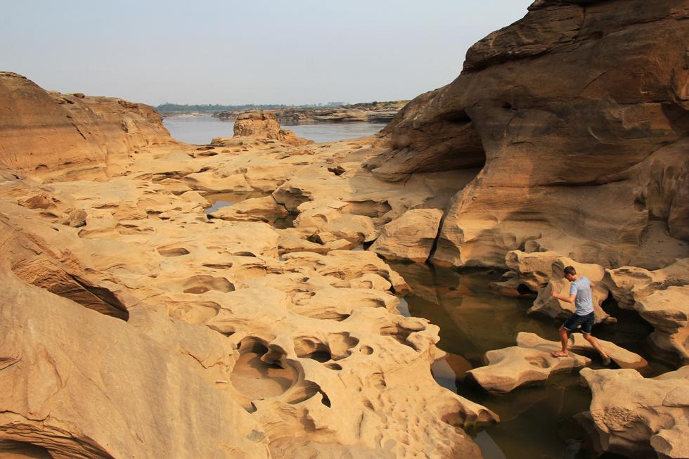 Exploring Sam Phan Bok Canyon