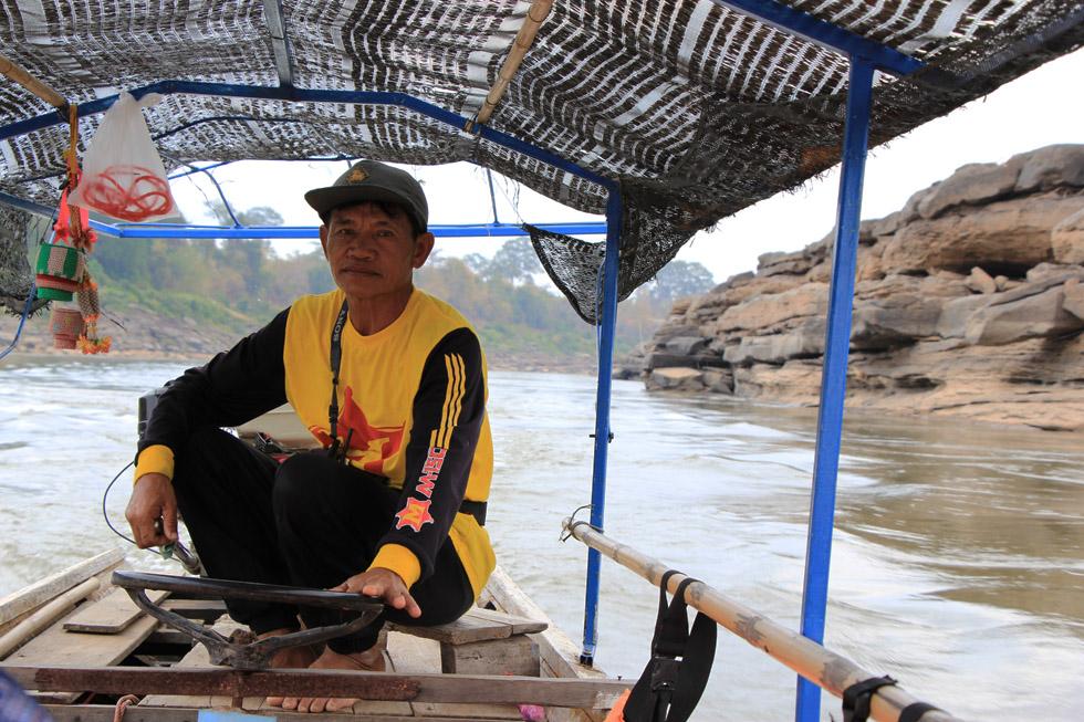 Our driver - Sam Phan Bok Canyon