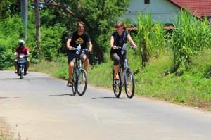 Cycling in Chiang Mai