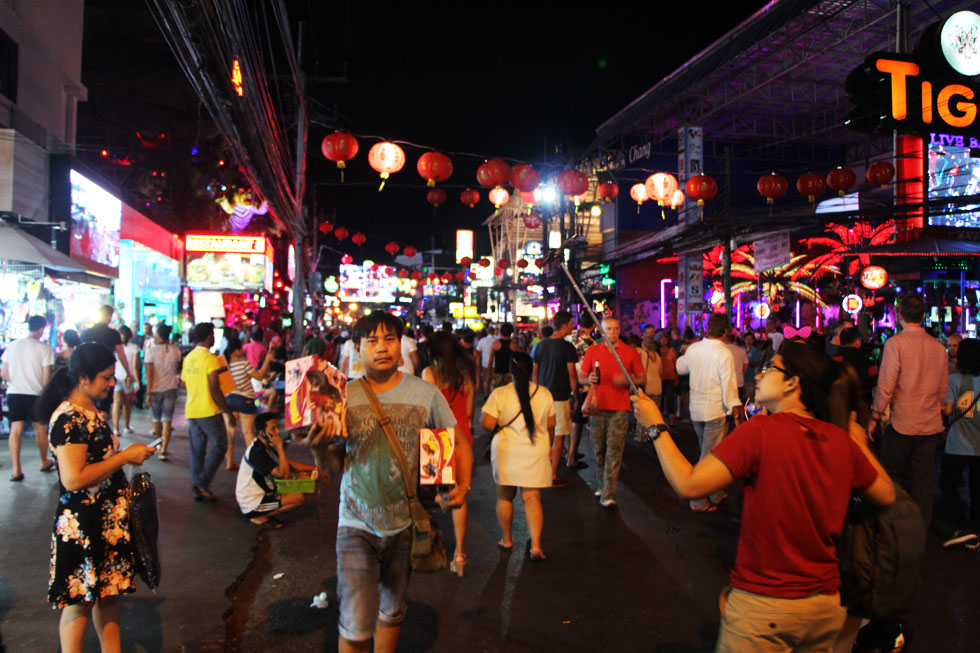 Soi Bangla in Phuket