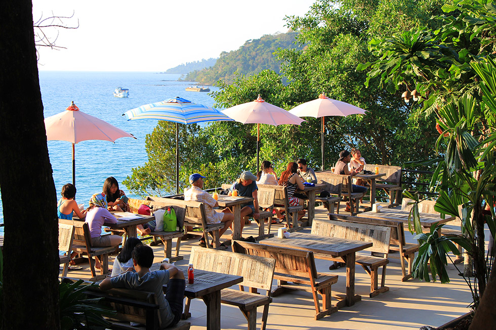 The Viewpoint Cafe in Koh Kood