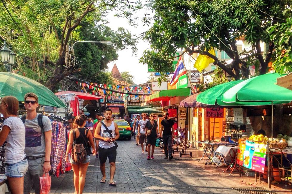 Soi Rambuttri in Bangkok