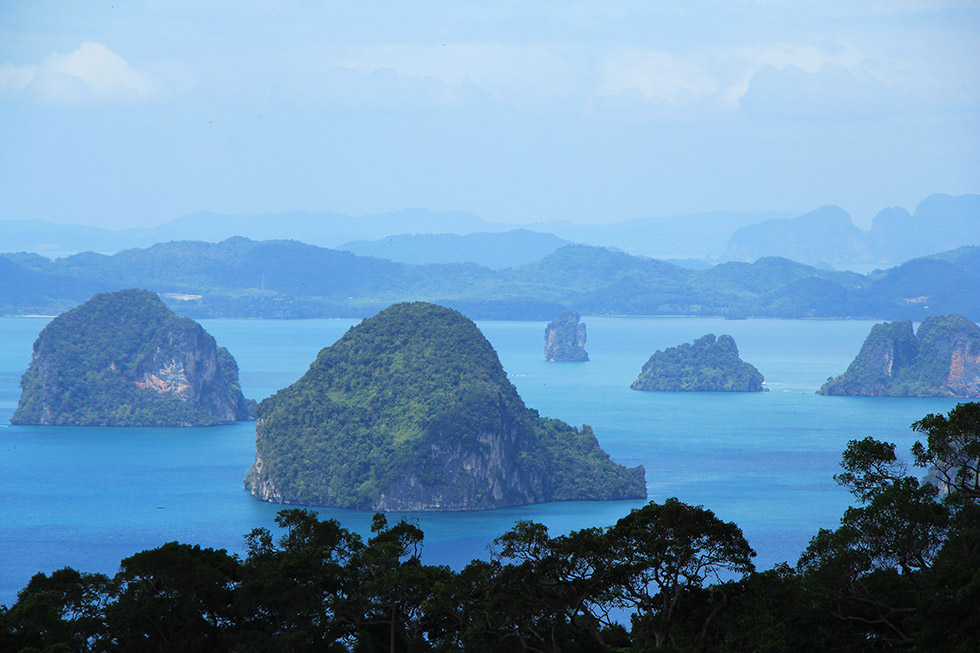 Hong Islands Viewpoint - Khao Ngon Nak Trail in Krabi