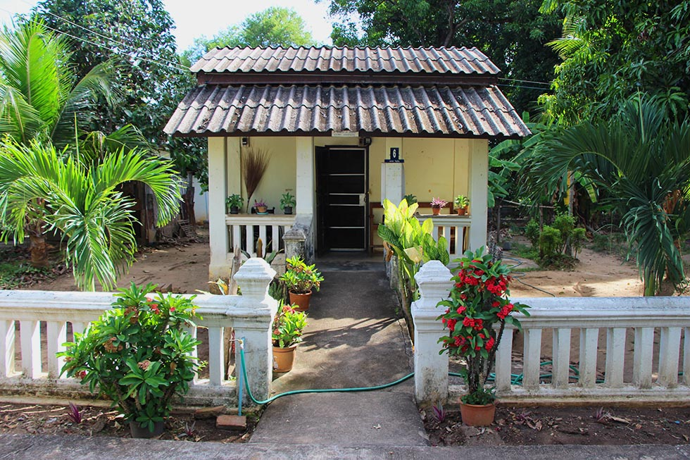 House of the leper colony in Chiang Mai