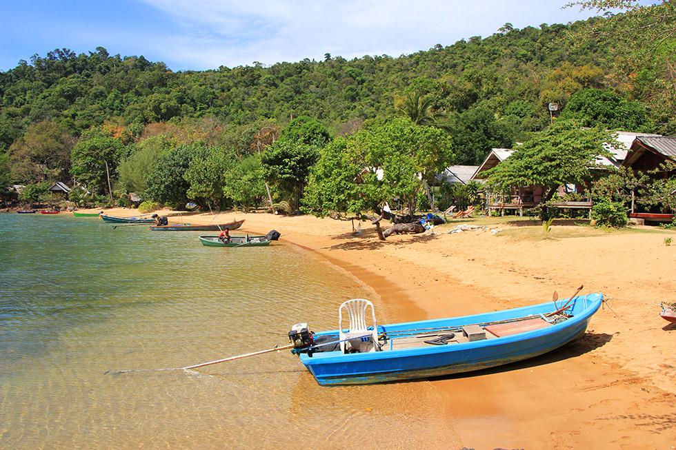 Maruey Beach in Koh Mak