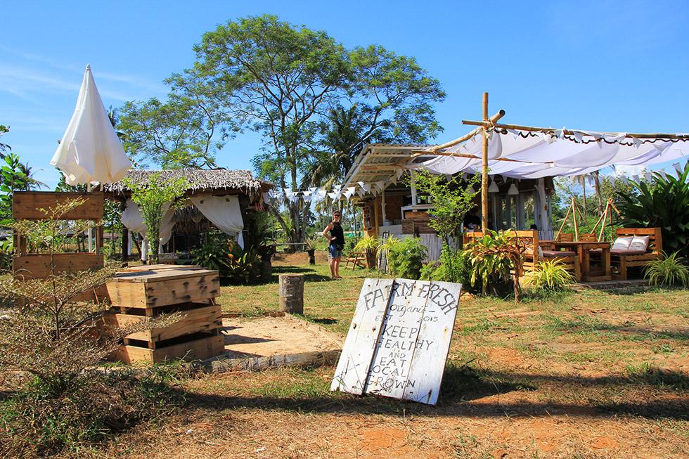 An Organic Farm in Koh Mak