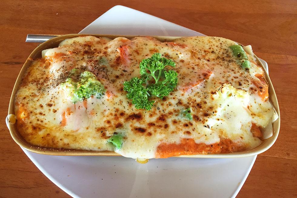 Lasagna at Sonya Restaurant - Koh Lanta