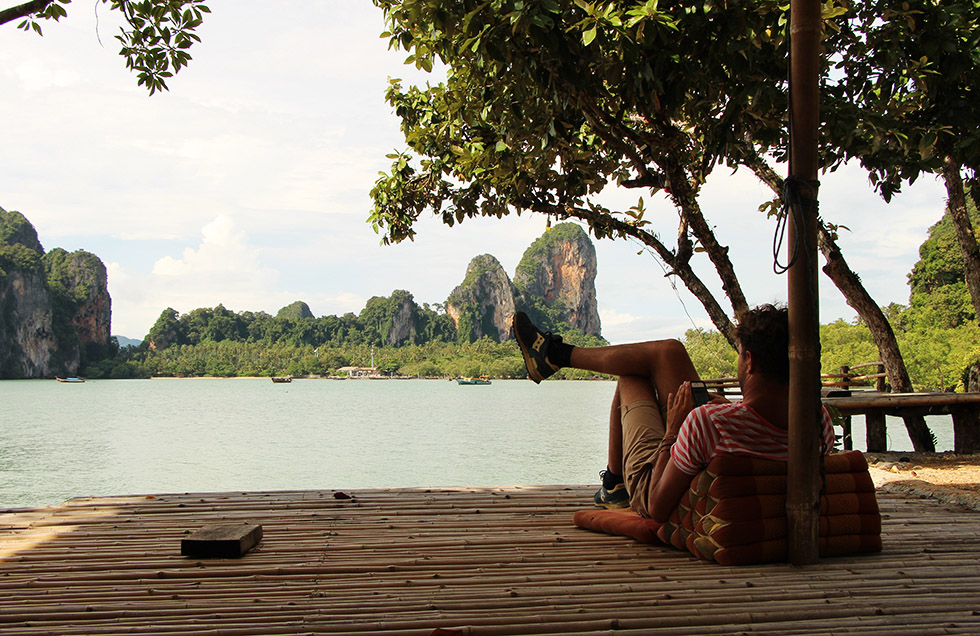 Breakfast at Tey Kaew Kay in Railay